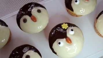 Pinguin Muffins